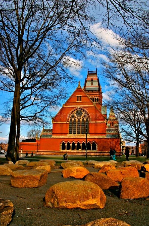 Quadrato di Harvard, S.U.A. fotografia stock libera da diritti