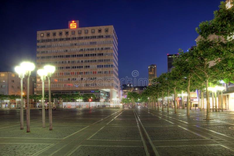 Quadrato di Konstablerwache, Francoforte, Germania fotografia stock libera da diritti