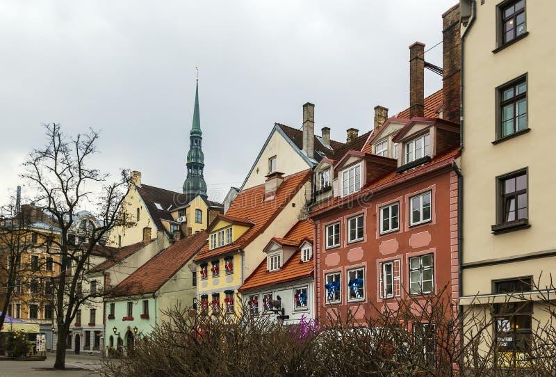 Quadrato di Livu, Riga fotografia stock libera da diritti