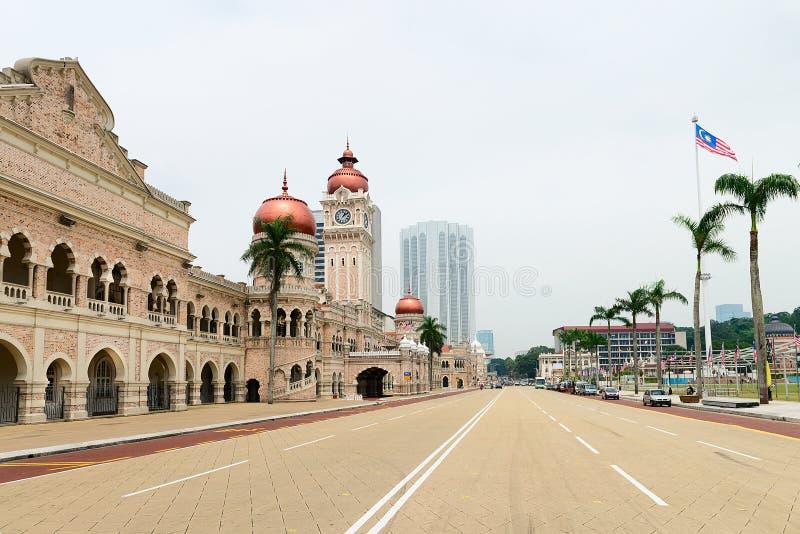 Quadrato di Merdeka di indipendenza in Kuala Lumpur immagine stock