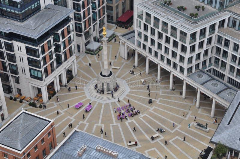 Quadrato di Paternoster, Londra fotografie stock libere da diritti