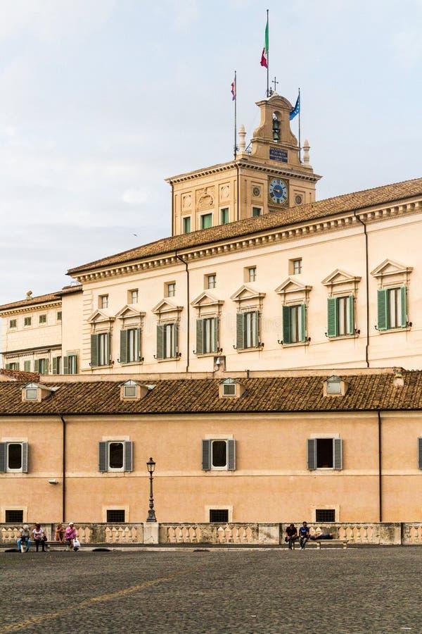 Quadrato di Quirinal, Roma, Italia fotografia stock