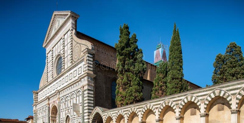 Quadrato di Santa Maria Novella a Firenze, Italia immagine stock