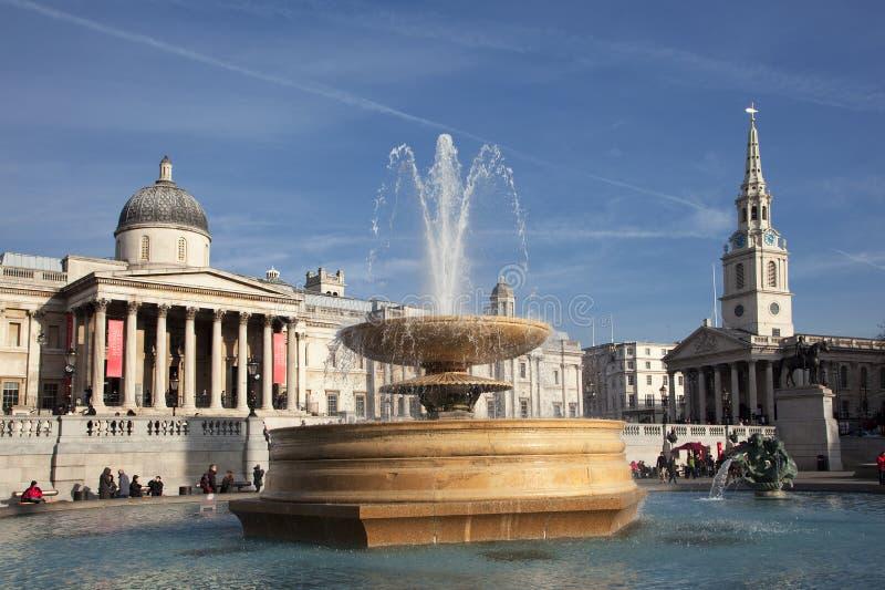 Quadrato di Trafalgar fotografie stock