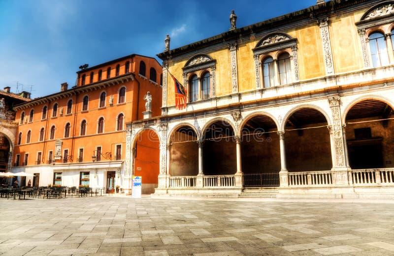 Quadrato italiano immagini stock libere da diritti