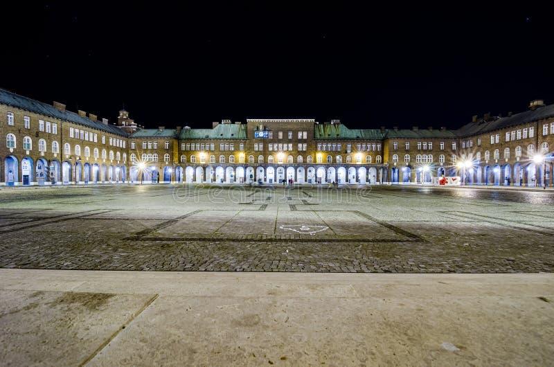 Quadrato principale di Seghedino, Ungheria fotografia stock libera da diritti