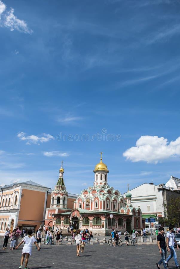 Quadrato rosso a Mosca immagini stock libere da diritti
