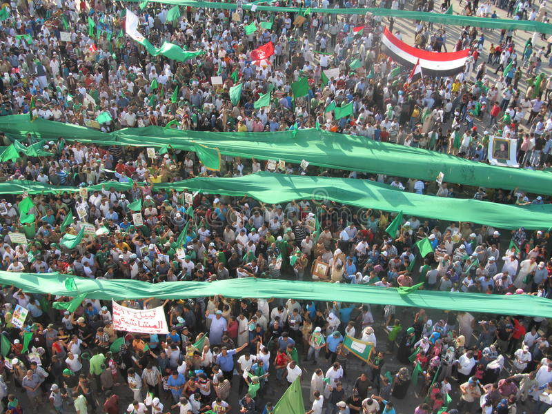 Quadrato verde - (Tripoli, la Libia) fotografia stock