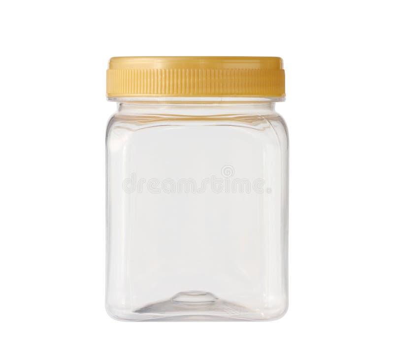 Quadratplastikglas stockfotos