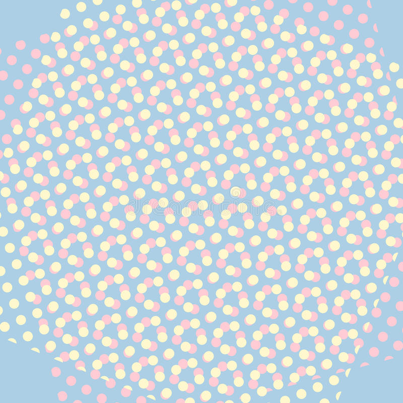 Quadriculação cômica retro do fundo do pop art morno ilustração stock