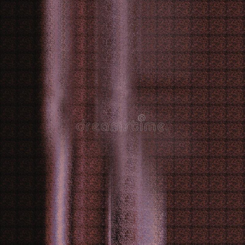 Quadriculado, marrom, projeto ilustração royalty free