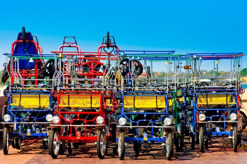 Quadricycles royalty free stock photo