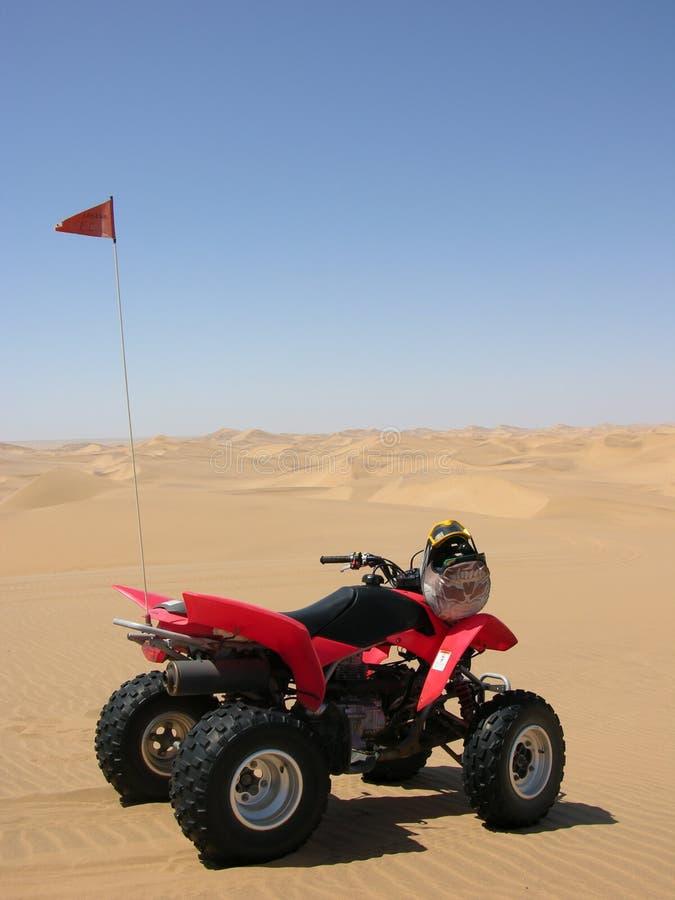 Quadrilátero no deserto fotos de stock royalty free
