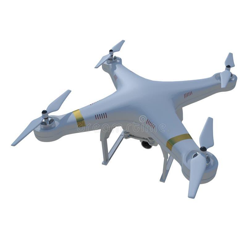Quadro直升机7 免版税库存图片