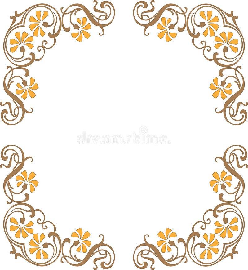 Quadro ilustração royalty free