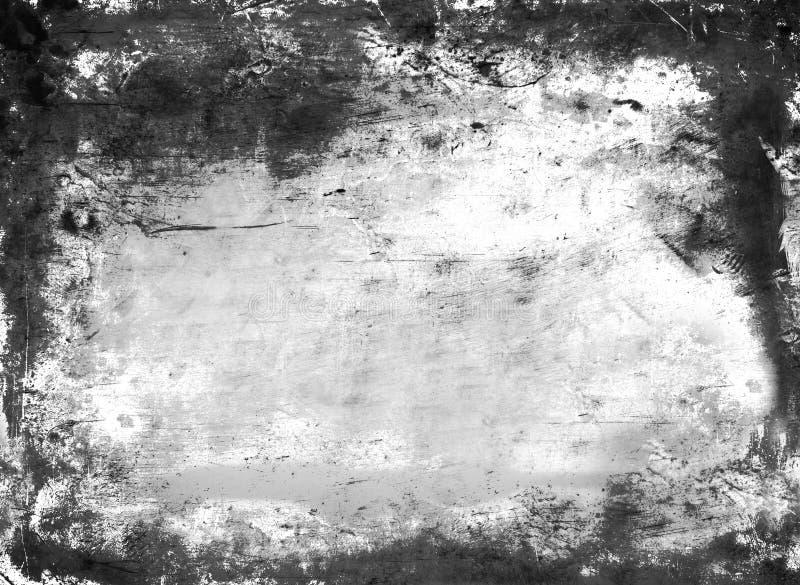 Quadro abstrato sujo ou do envelhecimento ilustração stock
