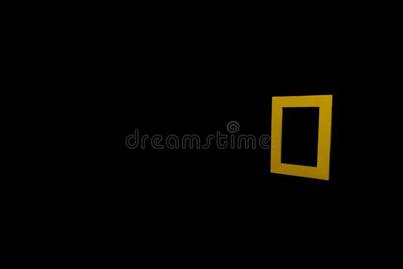 Quadro amarelo imagem de stock royalty free