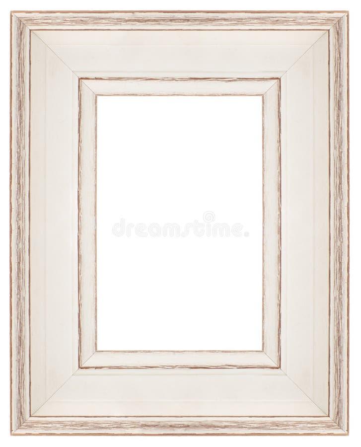 Quadro branco à moda fotos de stock