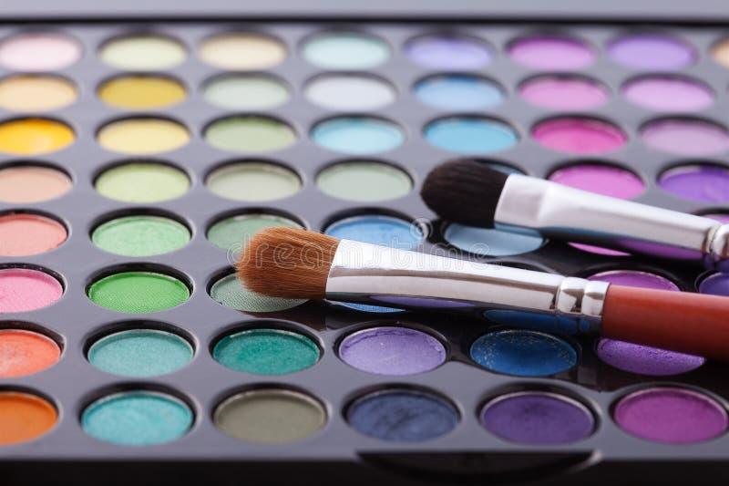 Quadro colorido com os vários produtos de composição foto de stock