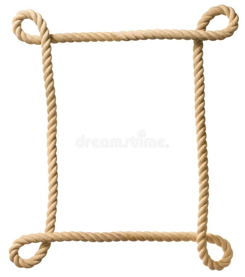 Quadro da corda foto de stock