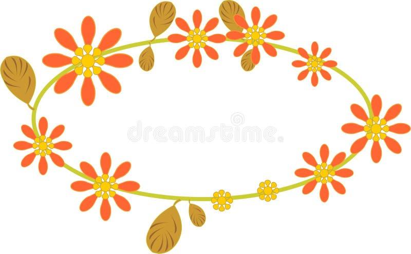 quadro da flora ilustração royalty free
