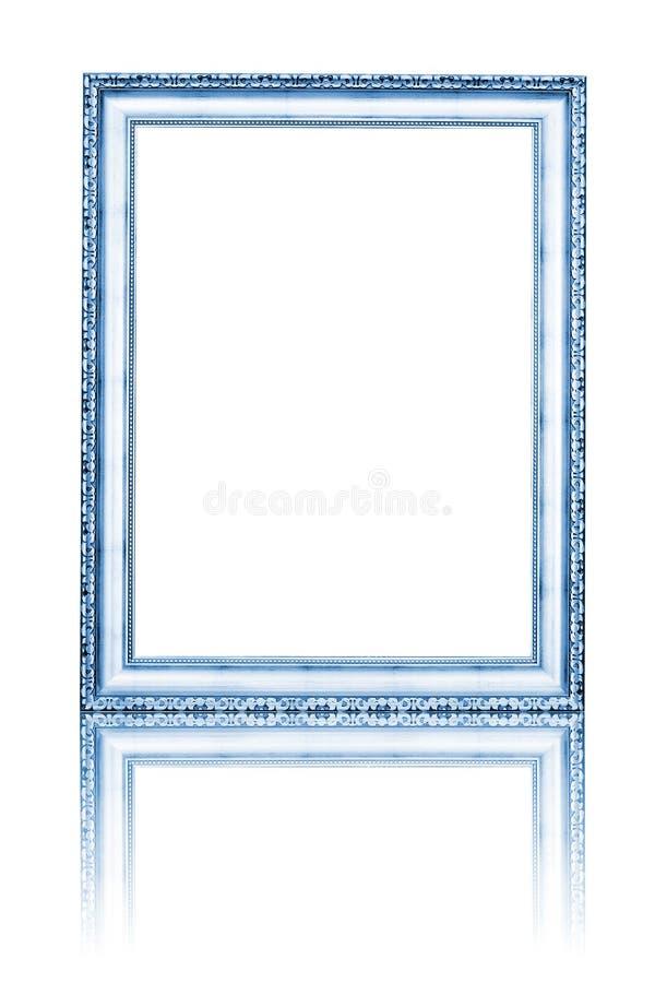 Quadro da foto isolado no branco ilustração stock