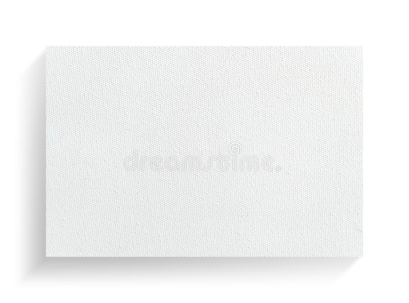 Quadro da lona no fundo branco com sombra macia ilustração royalty free