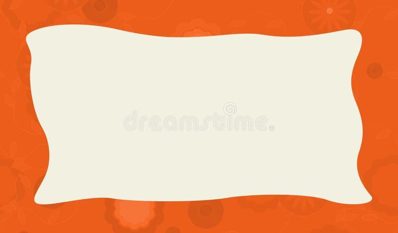 Quadro da natureza dos desenhos animados - horizontal - natureza ilustração stock