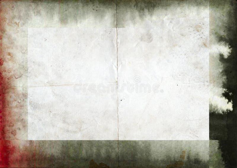 Quadro da tinta do vintage do Grunge ilustração stock
