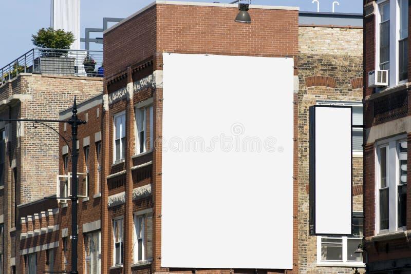Quadro de avisos - projeto urbano imagem de stock royalty free