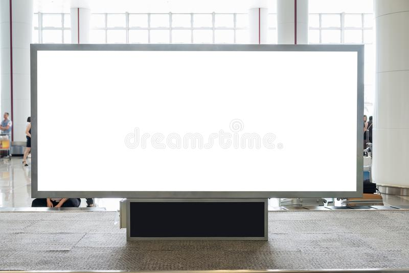 Quadro de avisos vazio de Digitas com espaço para anunciar, público da cópia imagem de stock