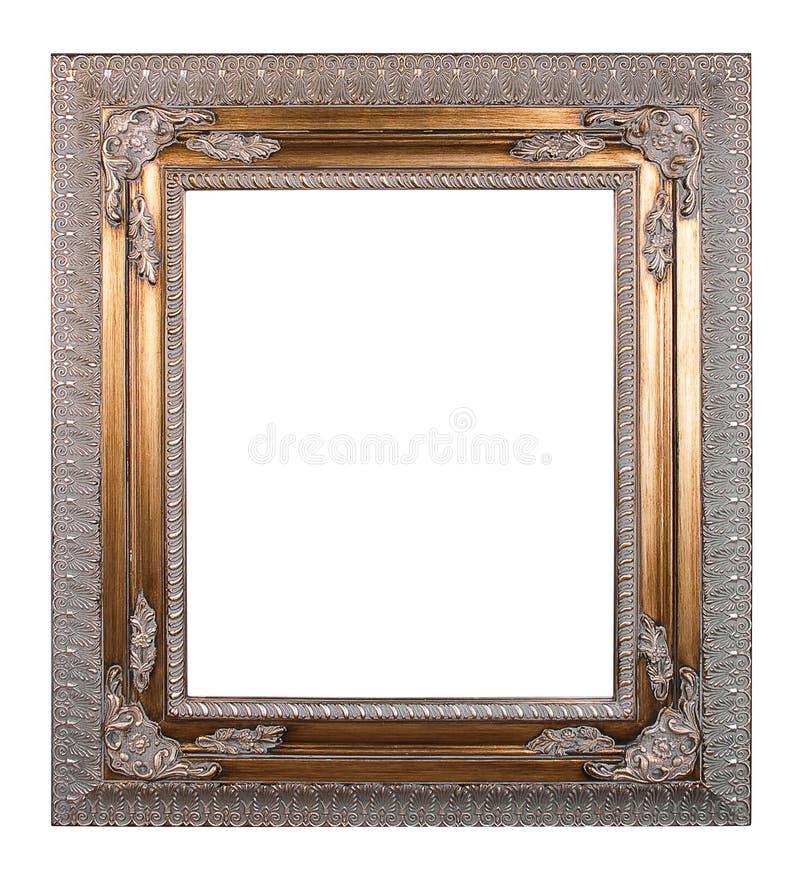 Quadro de cobre do vintage imagens de stock
