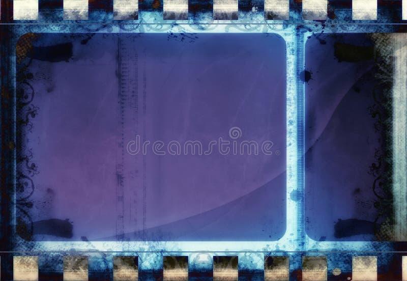 Quadro de filme do Grunge com espaço para o texto ou a imagem ilustração royalty free