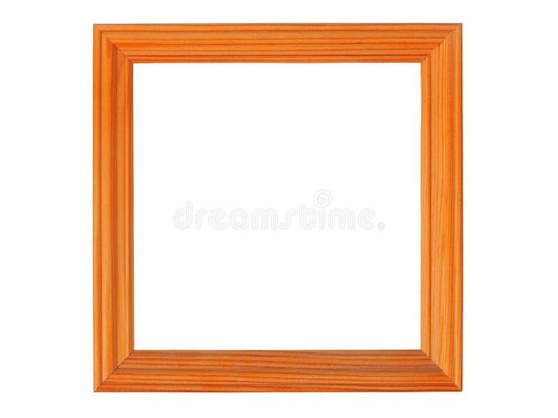 Quadro de imagem de madeira foto de stock royalty free