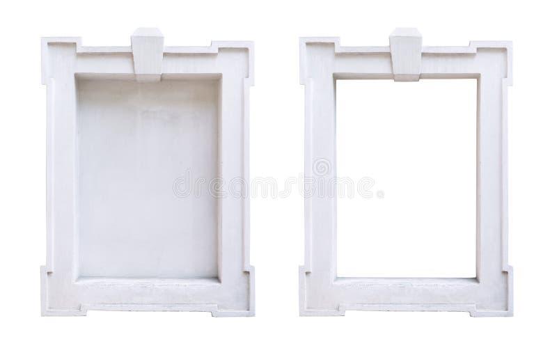 Quadro de janela em uma construção histórica foto de stock royalty free