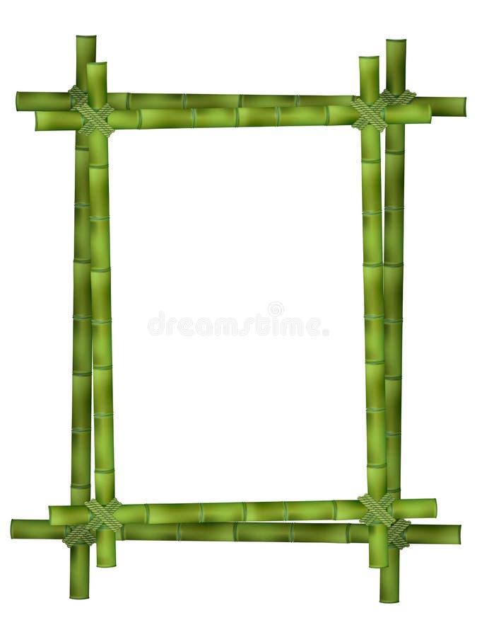 Quadro de madeira ilustração royalty free