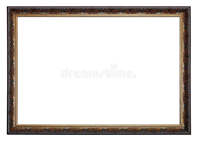 Quadro de madeira foto de stock