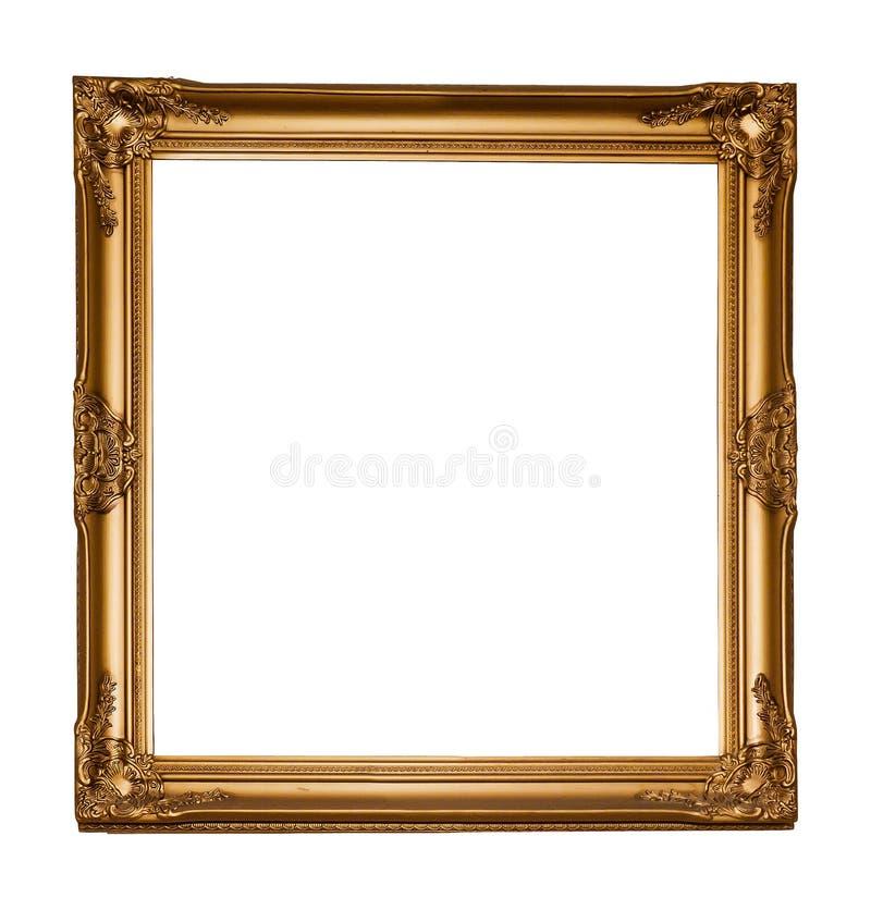 Quadro de madeira clássico do retângulo do vintage imagem de stock