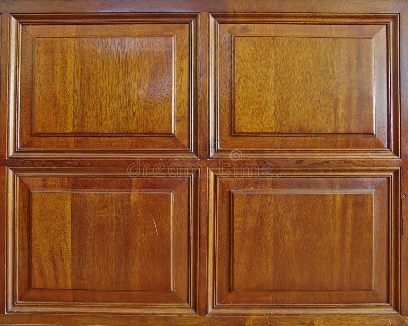 Quadro de madeira natural do wainscot imagem de stock