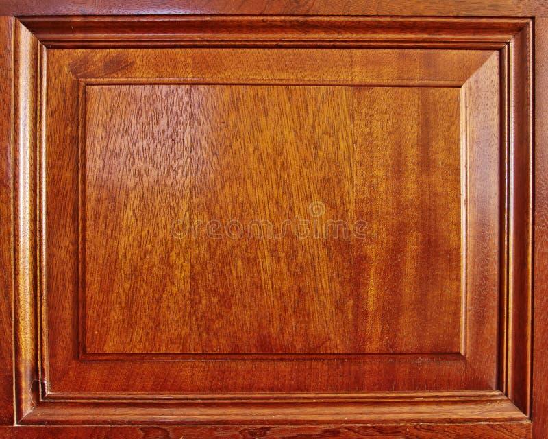 Quadro de madeira natural do wainscot foto de stock royalty free