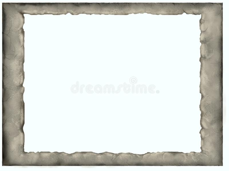 Quadro de pedra fotografia de stock royalty free