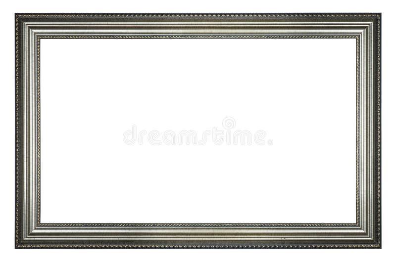 Quadro de prata do retângulo fotos de stock royalty free