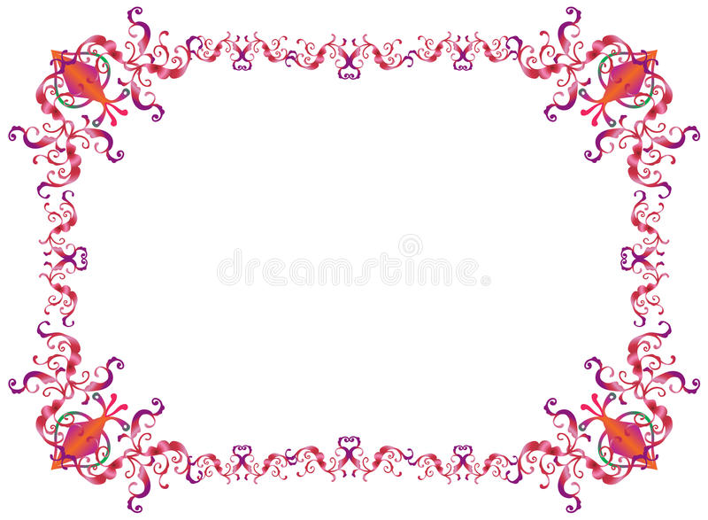 Quadro de Purim ilustração royalty free