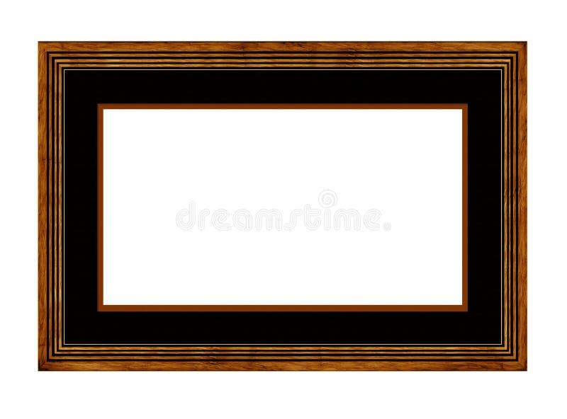 Quadro de retrato com montagem ilustração stock