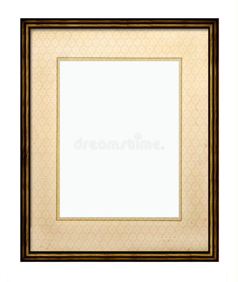 Quadro de retrato com montagem ilustração royalty free