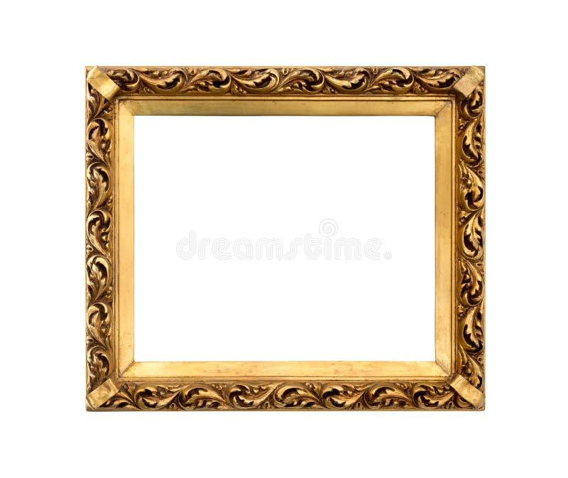 Quadro decorativo dourado para pintar imagens de stock royalty free