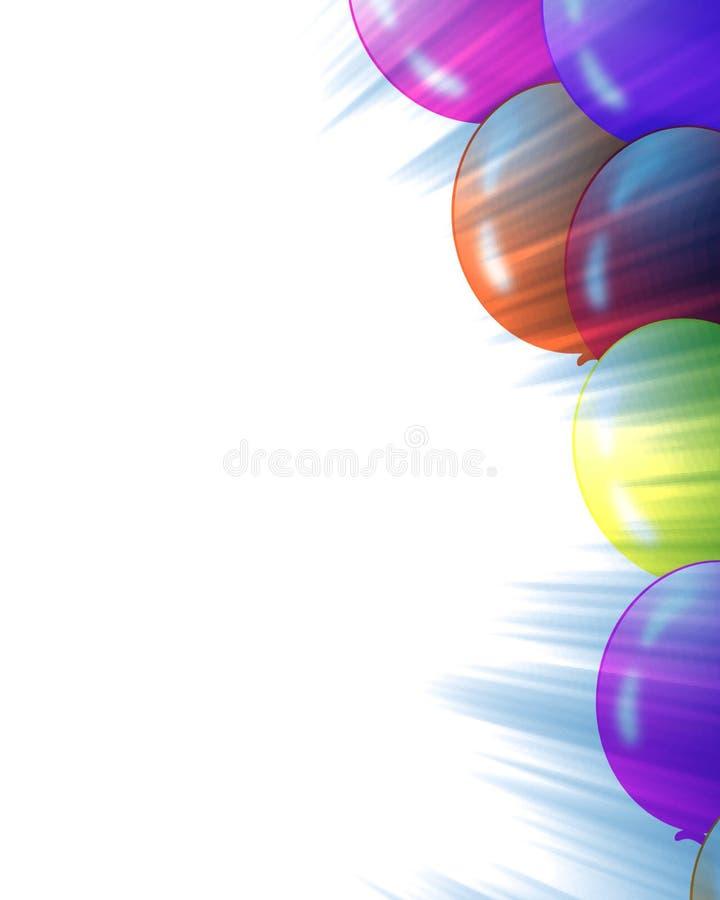 Quadro do balão ilustração do vetor