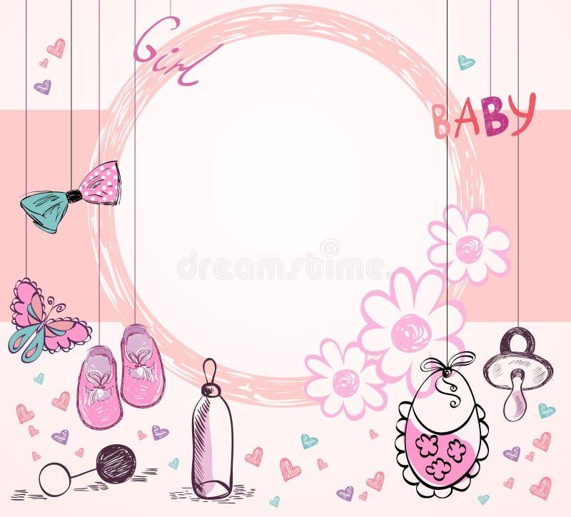 Quadro do bebê ilustração do vetor