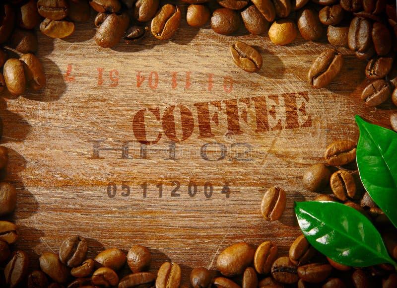 Quadro do feijão de café imagem de stock royalty free