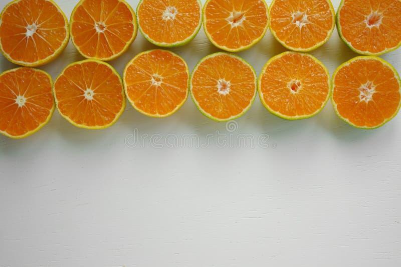 quadro do fruto da tangerina imagens de stock